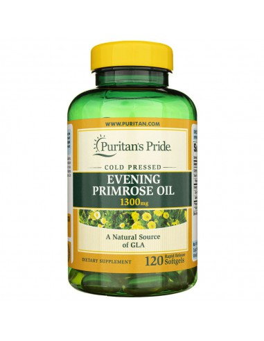 Puritan's Pride Evening Primrose Oil...