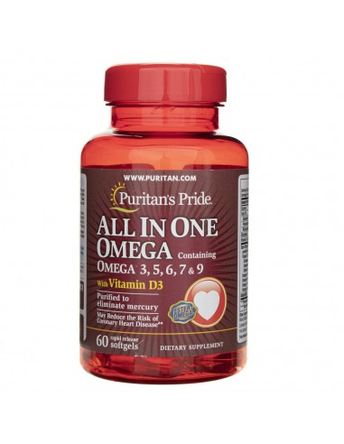 Puritan's Pride All in One Omega - 60...